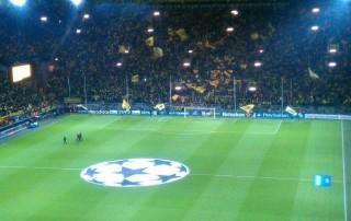 Dortmunds Südtribühne kann morgen nicht mithelfen