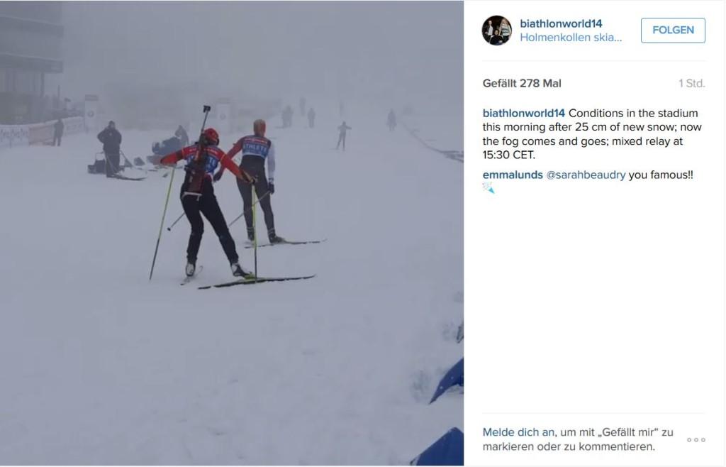 Instagram Biathlon