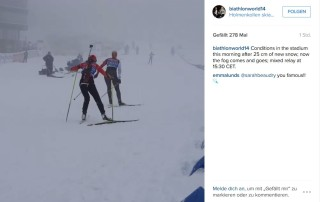 Instagram Biathlon
