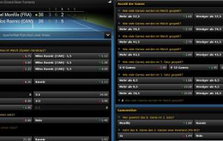 Tennis Wette